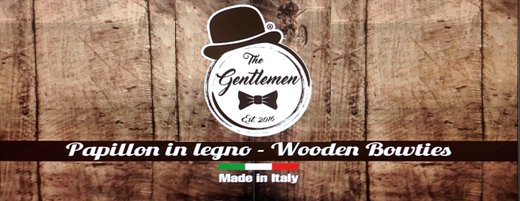 the gentleman - papillon in legno